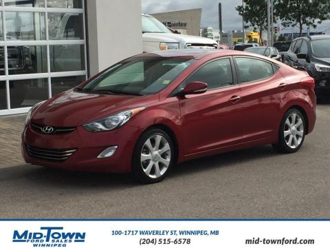 Pre-Owned 2013 Hyundai Elantra Limited Front Wheel Drive 4 Door Car