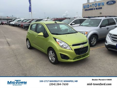 Used 2013 Chevrolet Spark 5dr HB Auto LT w/1LT Front Wheel Drive 4 Door Car