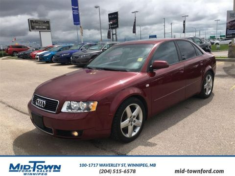Pre-Owned 2004 Audi A4  All Wheel Drive 4 Door Car