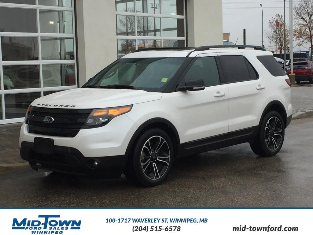 pre owned 2015 ford explorer sport 4 door sport utility in winnipeg 4233 mid town ford. Black Bedroom Furniture Sets. Home Design Ideas