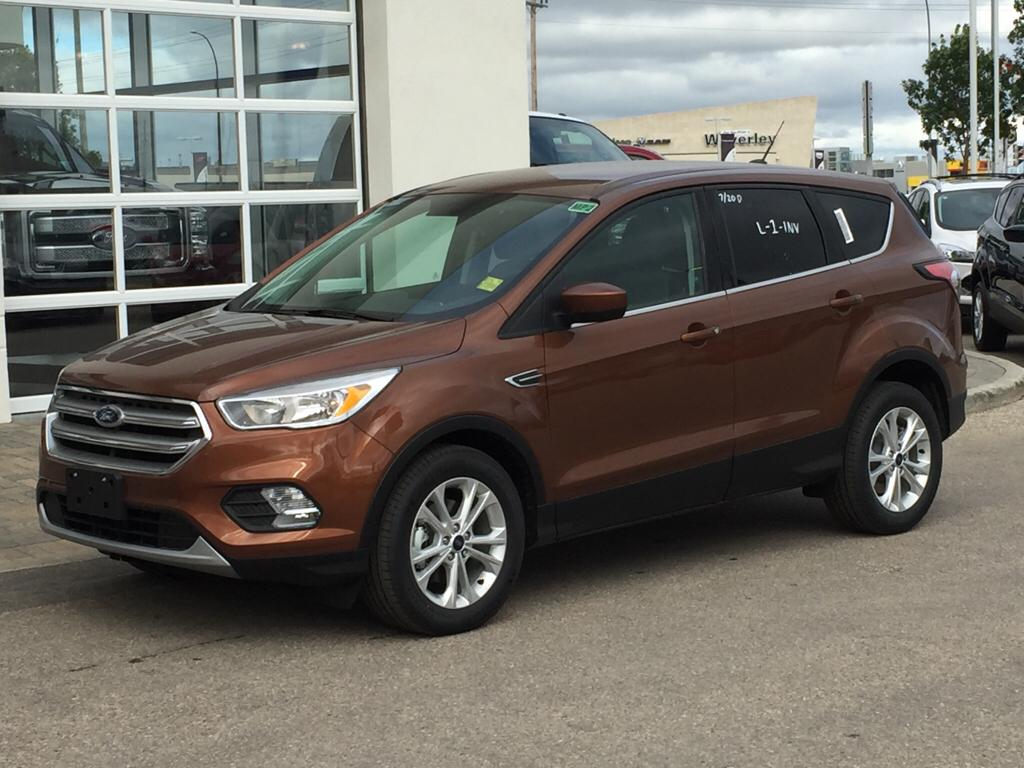 new 2017 ford escape se 4 door sport utility in winnipeg 17u0g17 mid town ford. Black Bedroom Furniture Sets. Home Design Ideas