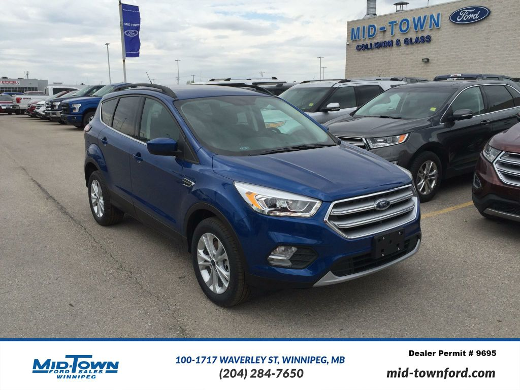 new 2017 ford escape se 4wd 4 door sport utility in winnipeg 17u9g213 mid town ford. Black Bedroom Furniture Sets. Home Design Ideas