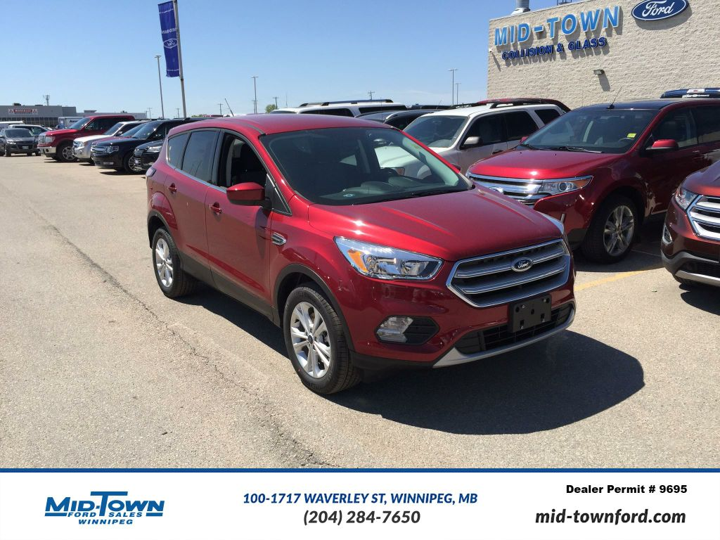 new 2017 ford escape se 4wd 4 door sport utility in winnipeg 17u9g231 mid town ford. Black Bedroom Furniture Sets. Home Design Ideas