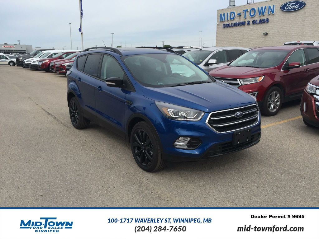 new 2017 ford escape titanium 4wd 4 door sport utility in winnipeg 17u9j85 mid town ford. Black Bedroom Furniture Sets. Home Design Ideas