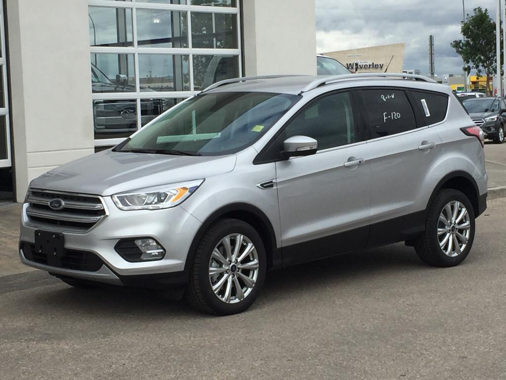 New 2017 Ford Escape Titanium 4 Door Sport Utility In