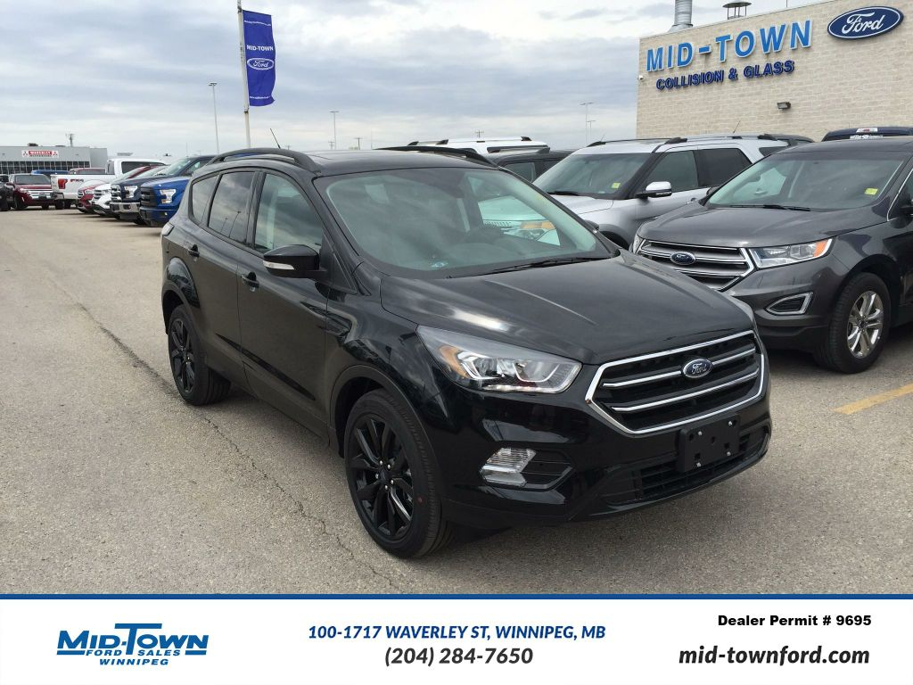 new 2017 ford escape titanium 4wd 4 door sport utility in winnipeg 17u9j72 mid town ford. Black Bedroom Furniture Sets. Home Design Ideas