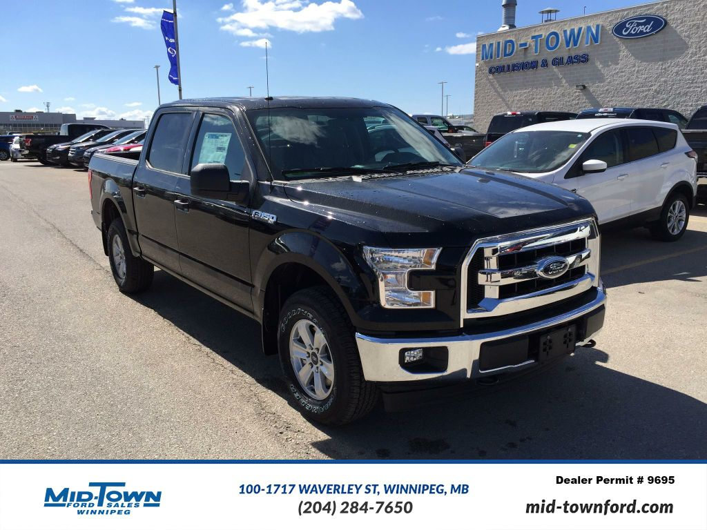 new 2017 ford f 150 2017 ford f 150 xlt crew cab 4dr 145 wb 4wd 4 door pickup in winnipeg. Black Bedroom Furniture Sets. Home Design Ideas