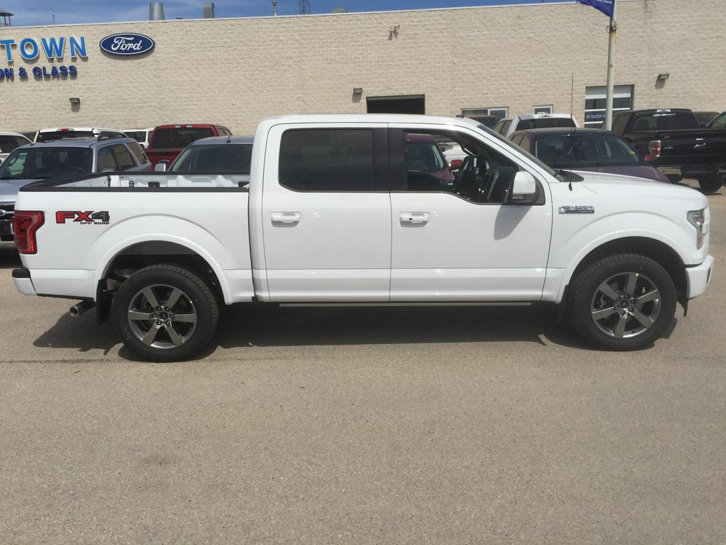 new 2017 ford f 150 lariat 4wd supercrew 5 5 39 box 4 door pickup in winnipeg 17w1e252 mid town. Black Bedroom Furniture Sets. Home Design Ideas