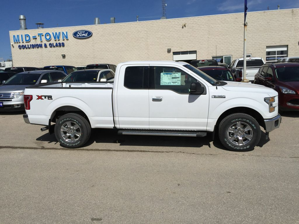 new 2017 ford f 150 2017 ford f 150 xlt super cab 4dr 145 wb 4wd 4 door pickup in winnipeg. Black Bedroom Furniture Sets. Home Design Ideas
