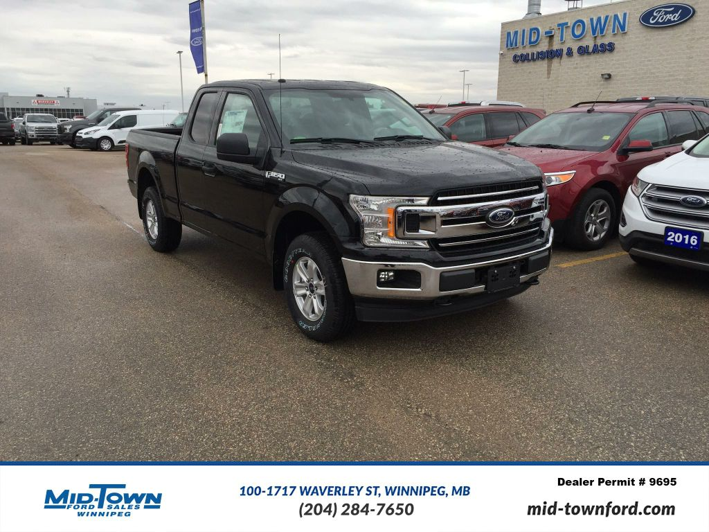 new 2018 ford f 150 2018 ford f 150 xlt super cab 4dr 145 wb 4wd 4 door pickup in winnipeg. Black Bedroom Furniture Sets. Home Design Ideas