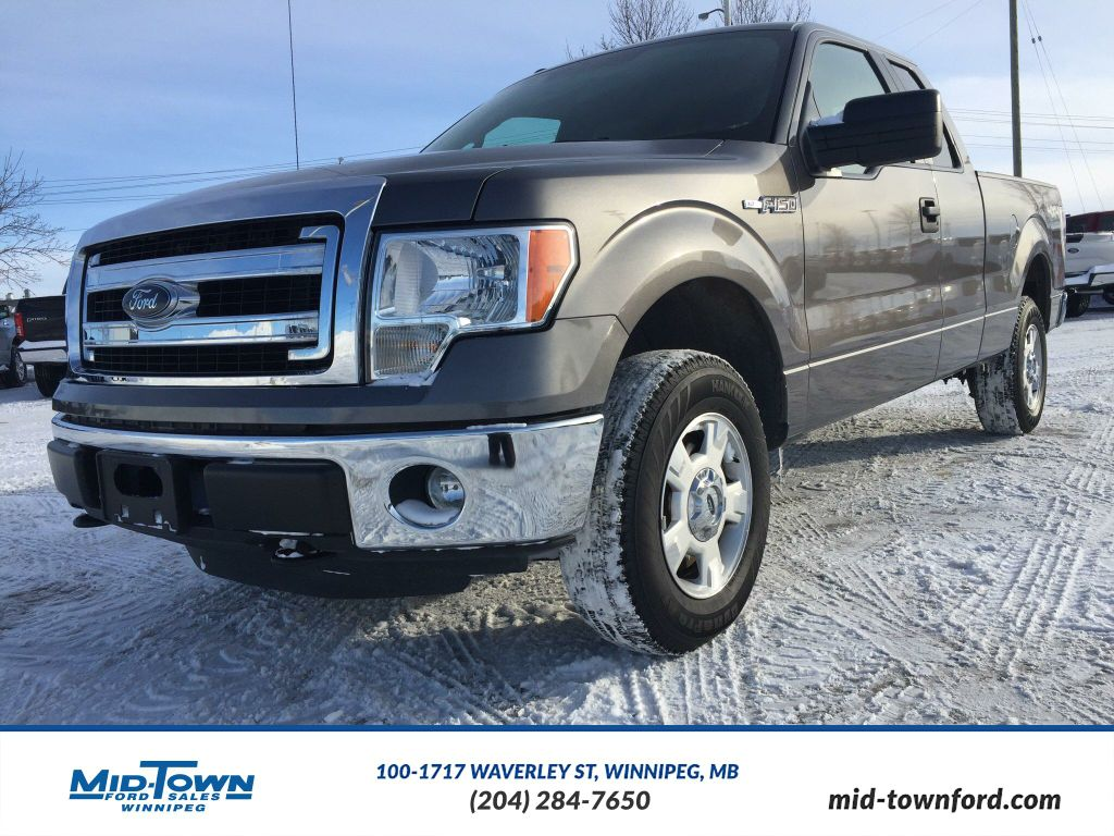 used 2014 ford f 150 xlt 4 door pickup in winnipeg 4289. Black Bedroom Furniture Sets. Home Design Ideas
