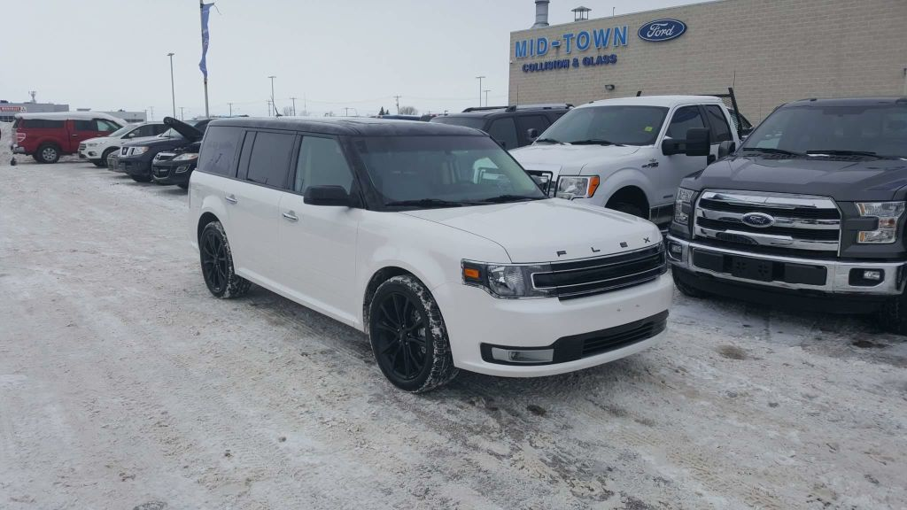 Pre-Owned 2017 Ford Flex SEL AWD LUXURY