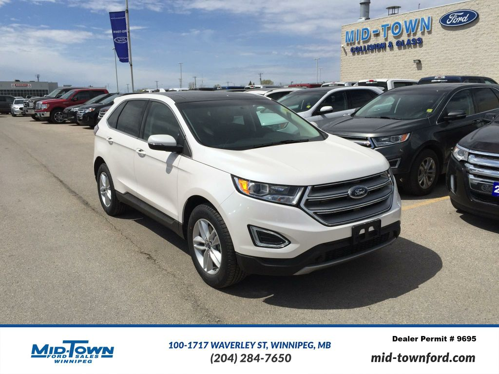 new 2017 ford edge sel awd 4 door sport utility in winnipeg 17k4j26 mid town ford. Black Bedroom Furniture Sets. Home Design Ideas