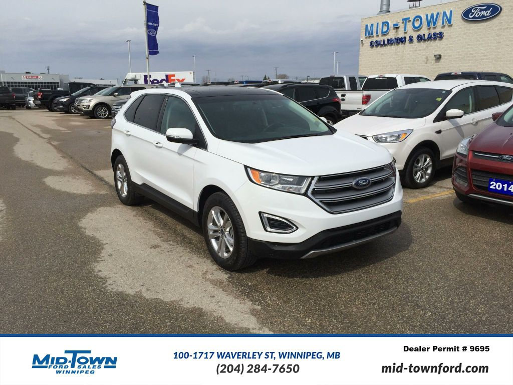 Pre-Owned 2016 Ford Edge SEL AWD LUXURY