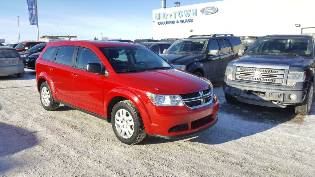 used 2016 dodge journey fwd 4dr se 4 door sport utility in winnipeg 17x1e89a mid town ford. Black Bedroom Furniture Sets. Home Design Ideas