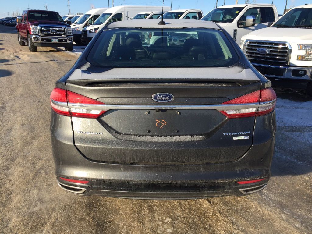 new 2017 ford fusion titanium 4 door car in winnipeg 17p0d02 mid town ford. Black Bedroom Furniture Sets. Home Design Ideas