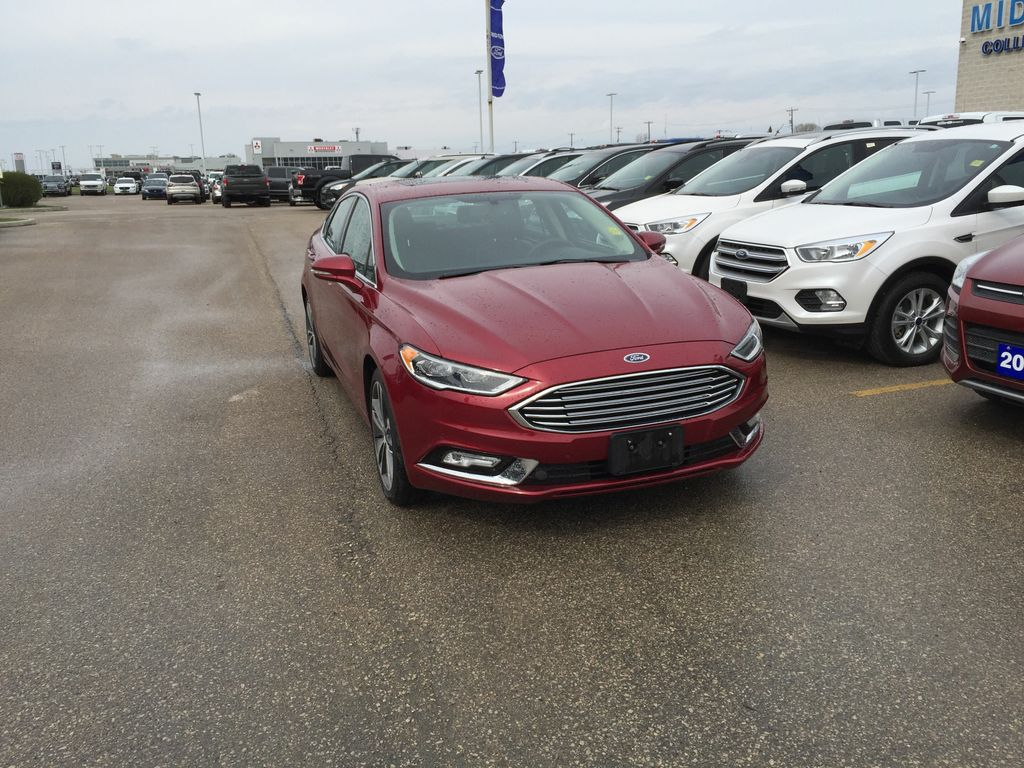 used 2017 ford fusion titanium awd 4 door car in winnipeg 4378 mid town ford. Black Bedroom Furniture Sets. Home Design Ideas