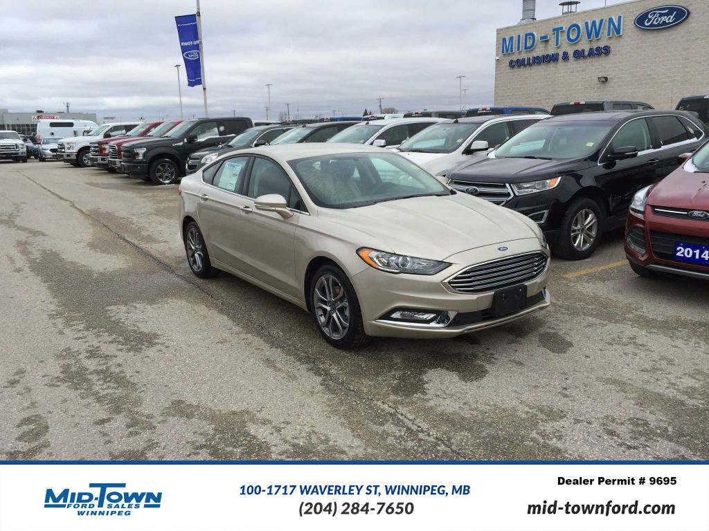 New 2017 Ford Fusion SE FWD : ford front wheel drive cars - markmcfarlin.com