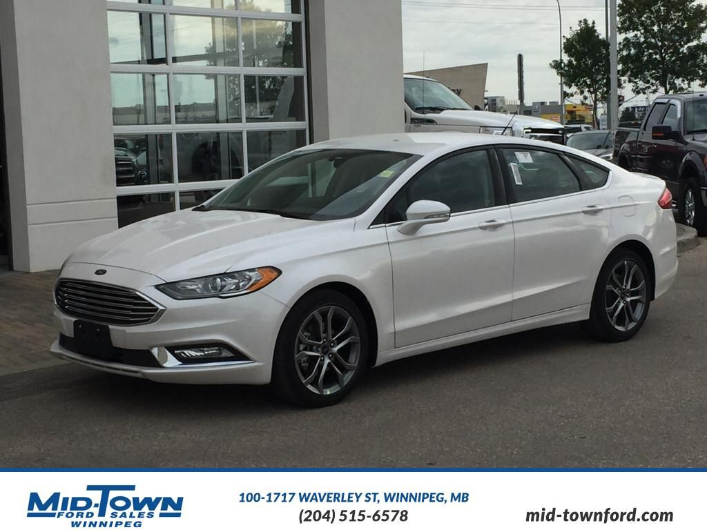new 2017 ford fusion se 4 door car in winnipeg 17p0h14 mid town ford. Black Bedroom Furniture Sets. Home Design Ideas