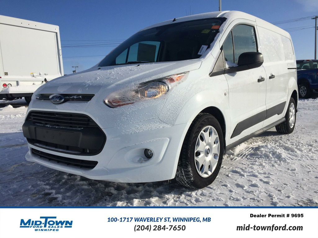 new 2017 ford transit connect xlt mini van cargo in winnipeg 17s7f01 mid town ford. Black Bedroom Furniture Sets. Home Design Ideas